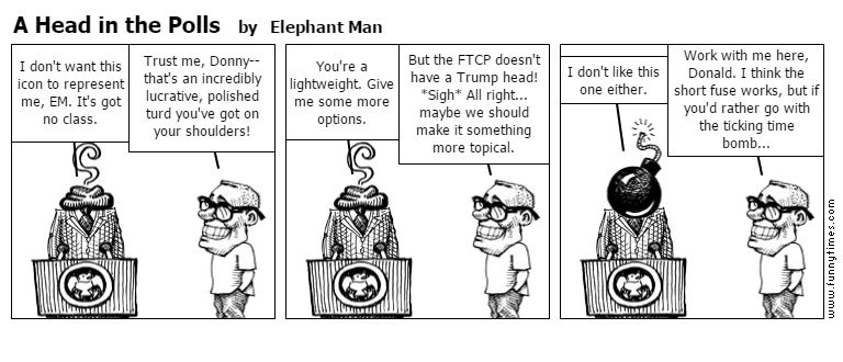 A Head in the Polls by Elephant Man