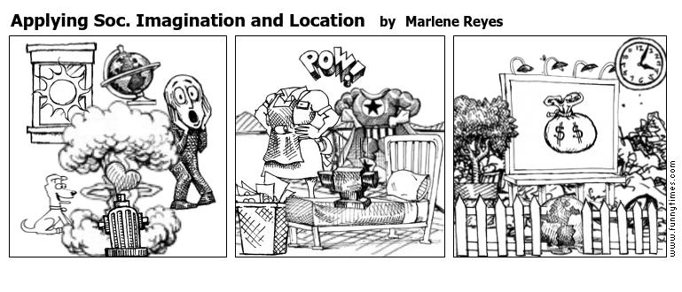 Applying Soc. Imagination and Location by Marlene Reyes