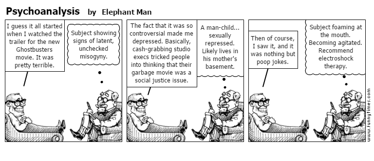 Psychoanalysis by Elephant Man