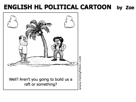 english hl political cartoon the funny times