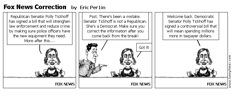 Fox News Correction by Eric Per1in