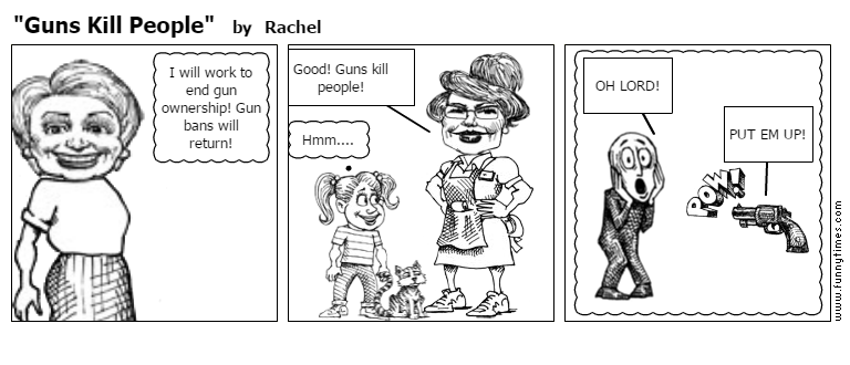 """Guns Kill People"" by Rachel"