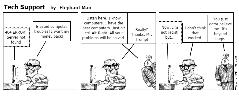 Tech Support by Elephant Man