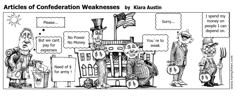 Articles of Confederation Weaknesses \u2013 The Funny Times