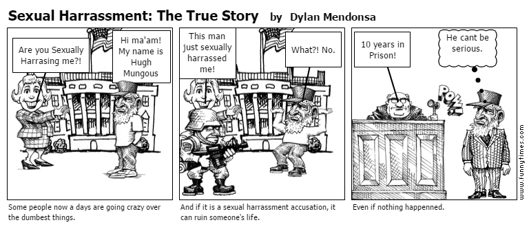 Sexual Harrassment The True Story by Dylan Mendonsa