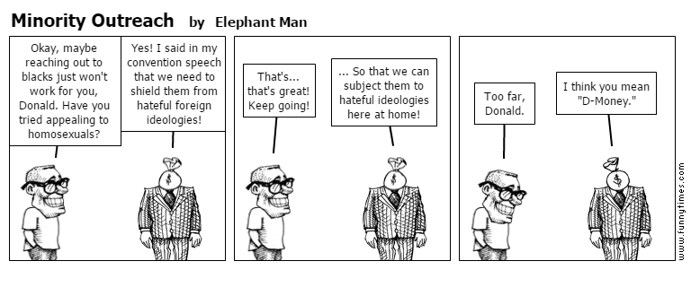 Minority Outreach by Elephant Man