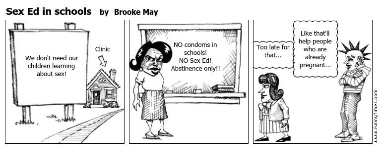 Sex Ed in schools by Brooke May
