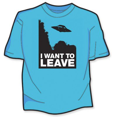 I Want To Leave T-Shirt View