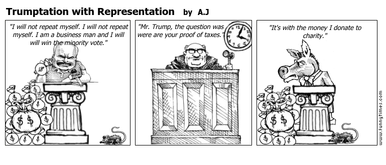 Trumptation with Representation by A.J