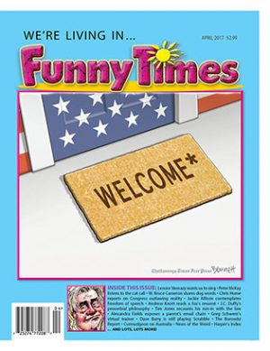 Funny Times April 2017 Issue