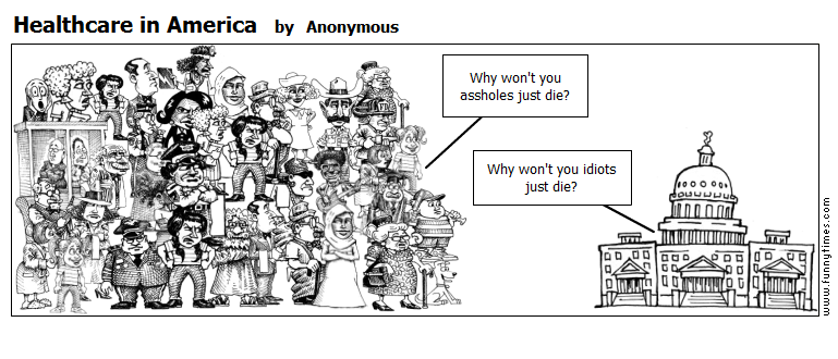 Healthcare in America by Anonymous