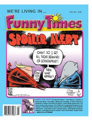 Funny Times July 2017 Issue