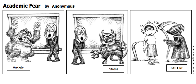 Academic Fear by Anonymous