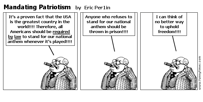 Mandating Patriotism by Eric Per1in