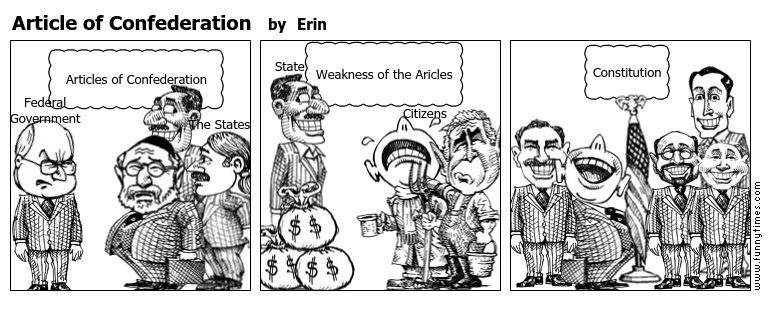 Article of Confederation \u2013 The Funny Times