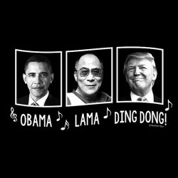 Obama Lama Ding Dong T-shirt