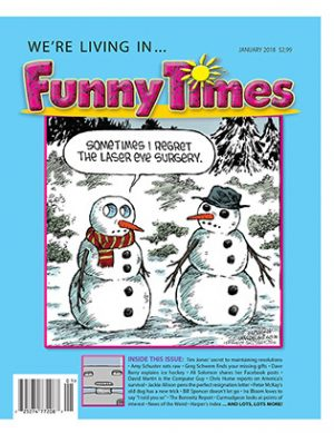 Funny Times January 2018 Issue