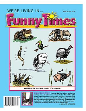 Funny Times March 2018 Issue