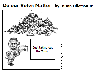 Do our Votes Matter by Brian Tillotson Jr