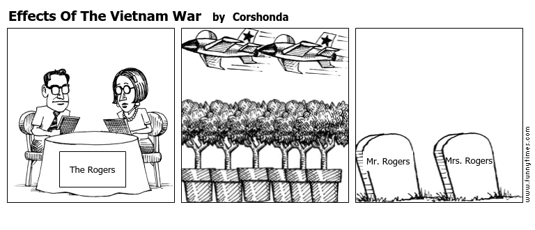 Effects Of The Vietnam War by Corshonda