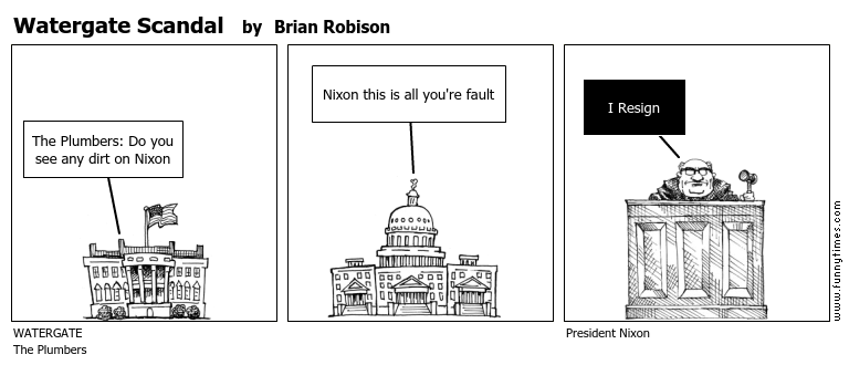 Watergate Scandal by Brian Robison