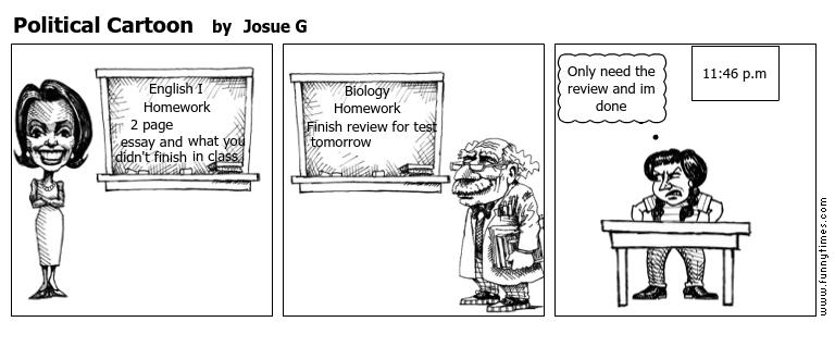 Political Cartoon by Josue G