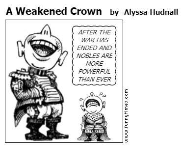 A Weakened Crown by Alyssa Hudnall