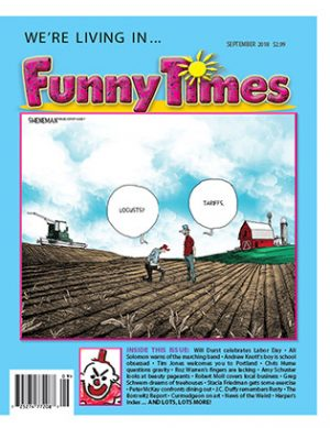 Funny Times September 2018 Issue