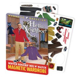 Hello, Neighbor! Mister Rogers' Magnet Set Fun for kids of all ages!