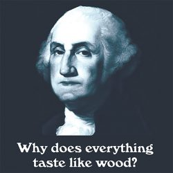 Why does everything taste like wood? T-Shirt