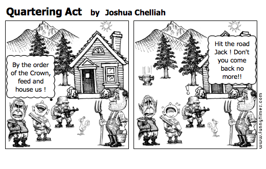 Quartering Act by Joshua Chelliah