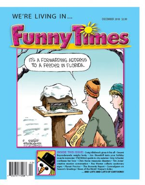 Funny Times December 2018 Issue