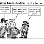 Trump Faces Justice