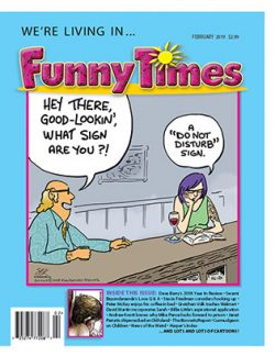 Funny Times February 2019 Issue cover
