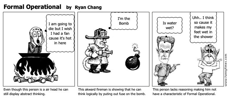 Formal Operational by Ryan Chang