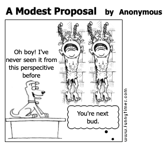 A Modest Proposal by Anonymous