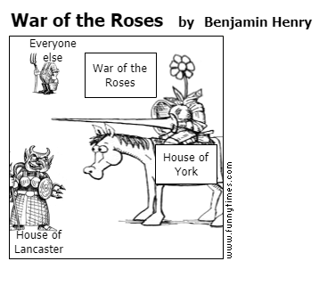 War of the Roses by Benjamin Henry
