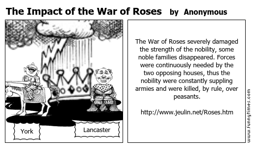 The Impact of the War of Roses by Anonymous