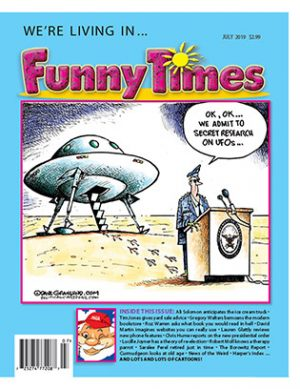 Funny Times July 2019 Issue