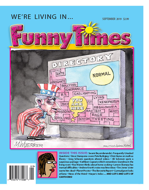 The Funny Times – The Cartoon & Humor Newspaper