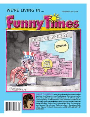 Funny Times September 2019 Issue