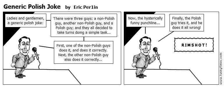 Generic Polish Joke by Eric Per1in