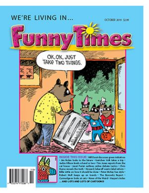 Funny Times October 2019 Issue