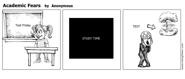 Academic Fears by Anonymous