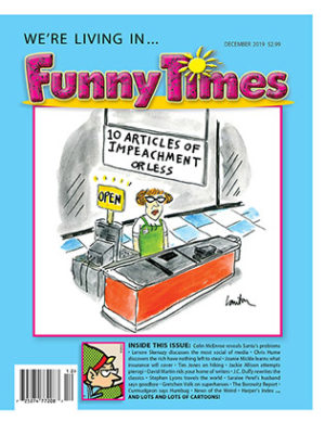 Funny Times December 2019 Issue