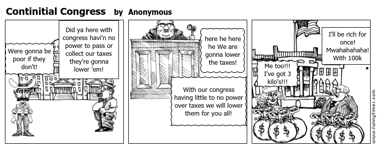 Continitial Congress by Anonymous
