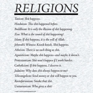 Religions T-Shirt Detail