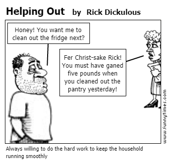 Helping Out by Rick Dickulous