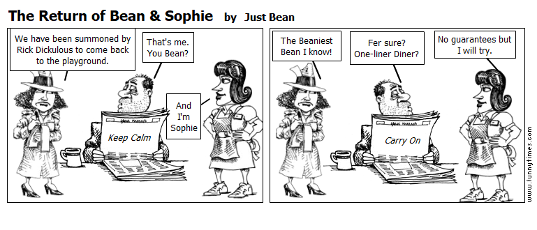 The Return of Bean Sophie by Just Bean