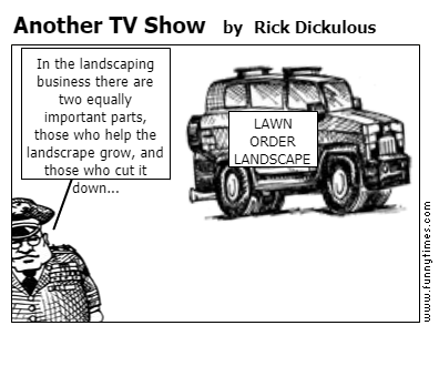 Another TV Show by Rick Dickulous